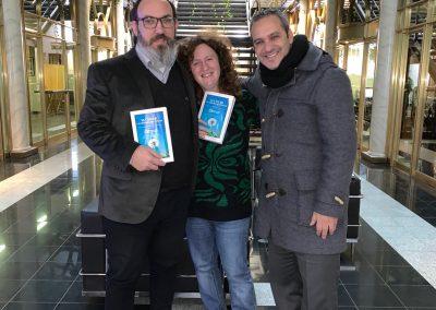 Con Guillermo y Celina
