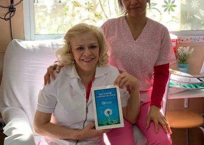 Enfermeras Leyendo